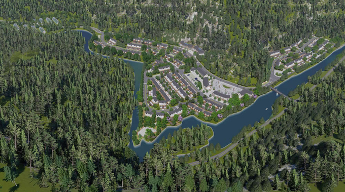 扎日乡诺瓦新村村庄发展规划建设项目